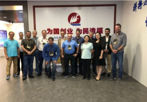 visita a Weiqiao Textile Company Limited 05 09